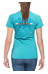 Edelrid Rope t-shirt Dames Graphic turquoise